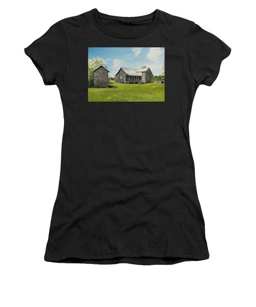 Old Clark Home Women's T-Shirt (Athletic Fit)