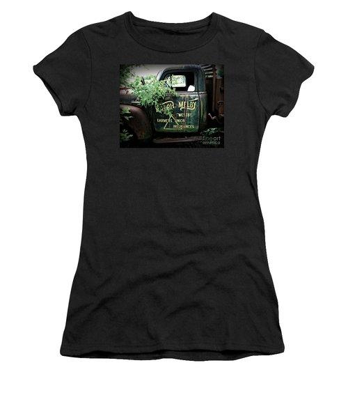 Old Farmers Union Truck Women's T-Shirt