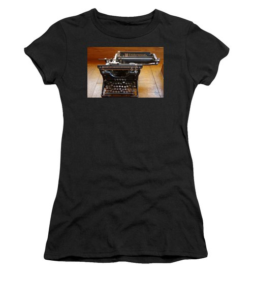 Women's T-Shirt (Junior Cut) featuring the photograph Old West 8 by Deniece Platt