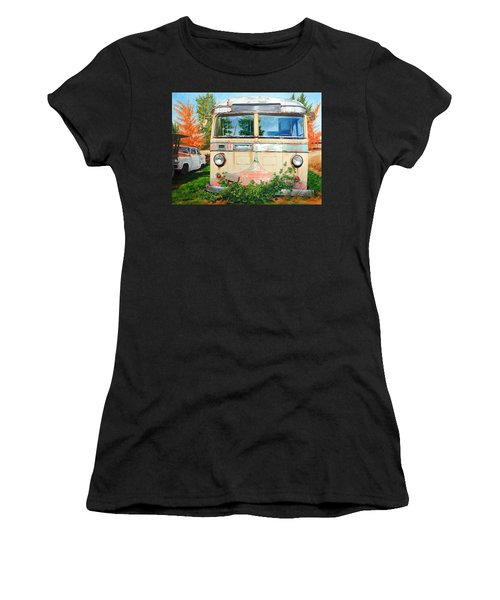 Out Where The Buses Don't Run Women's T-Shirt (Athletic Fit)