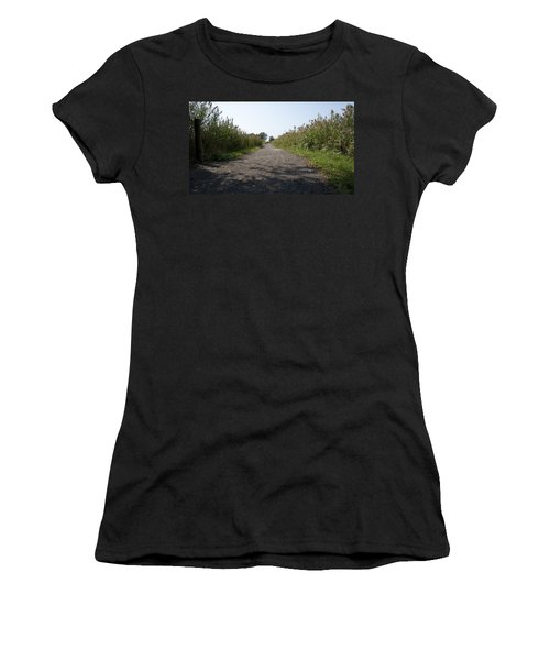 Path To The Bay Women's T-Shirt (Athletic Fit)
