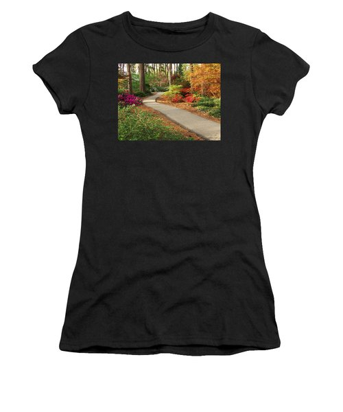 Peaceful Path Women's T-Shirt (Athletic Fit)