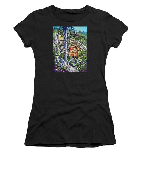 Petroglyph Pines Women's T-Shirt (Athletic Fit)
