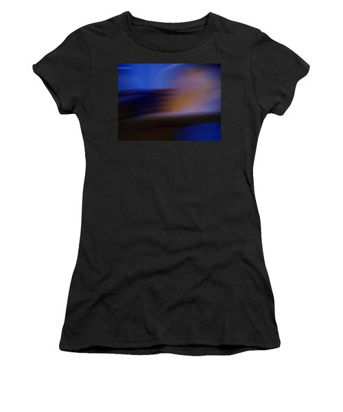 Women's T-Shirt (Junior Cut) featuring the photograph Photo Mixture Experiment by Colette V Hera  Guggenheim