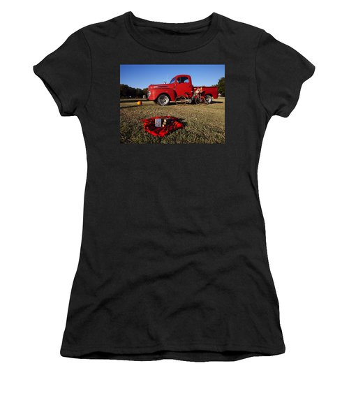 Picnic Time  Women's T-Shirt (Athletic Fit)