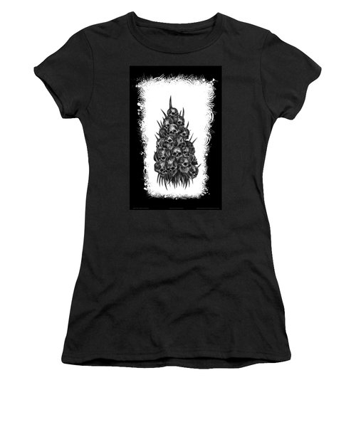 Pile Of Skulls Women's T-Shirt