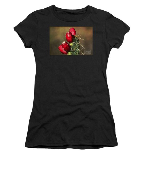 Prickley Pear Fruit Women's T-Shirt (Athletic Fit)