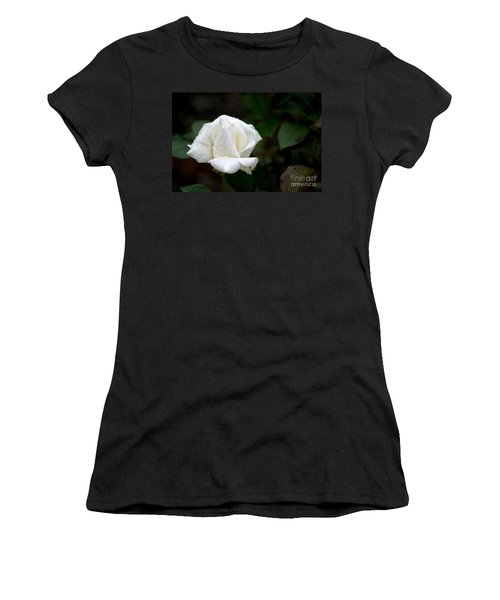 Pure As Snow Women's T-Shirt (Junior Cut) by Living Color Photography Lorraine Lynch