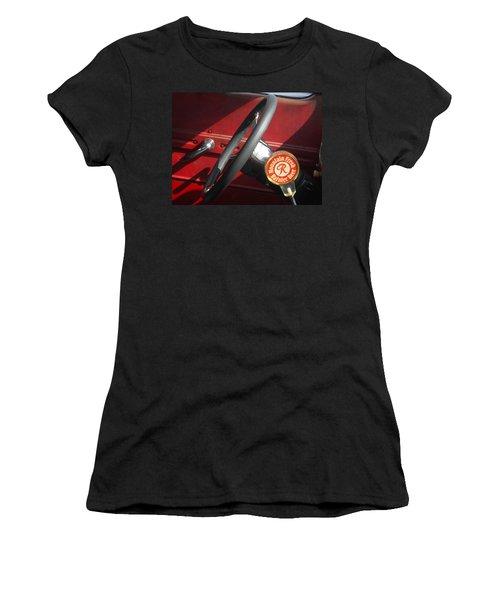 Rainier Stick Shift  Women's T-Shirt (Junior Cut) by Kym Backland