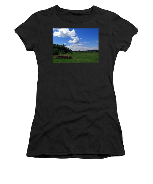 Ready For Work Women's T-Shirt (Athletic Fit)