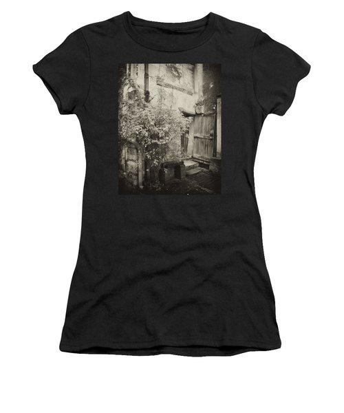 Women's T-Shirt (Junior Cut) featuring the photograph Renovation by Hugh Smith