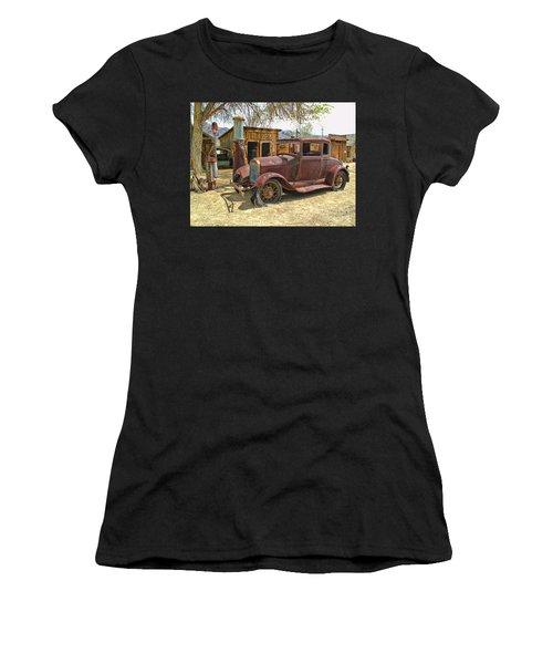 Retired Model T Women's T-Shirt (Athletic Fit)