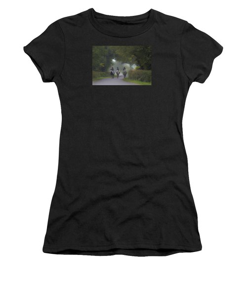 Riding In Tandem Women's T-Shirt