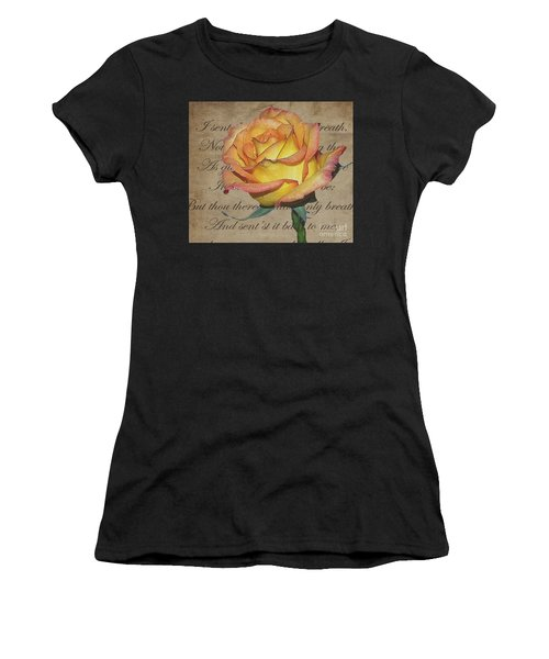 Romantic Rose Women's T-Shirt