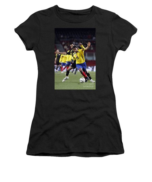 Women's T-Shirt featuring the photograph Carlos Busquets 2 by Agusti Pardo Rossello