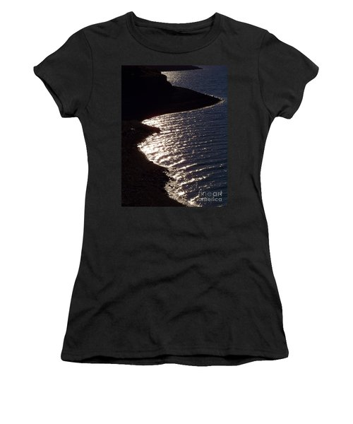 Shining Shoreline Women's T-Shirt (Athletic Fit)