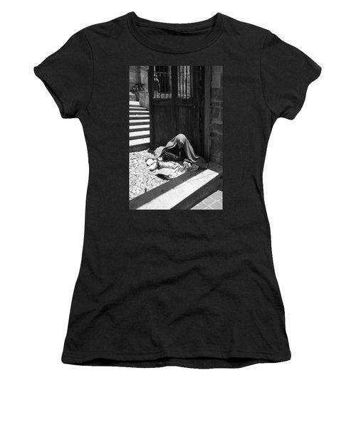 Silent Desperation Women's T-Shirt (Junior Cut) by Lynn Palmer
