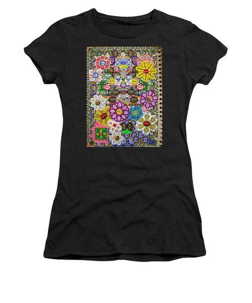 Sketchbook 3 Pg Back Of Cover Women's T-Shirt