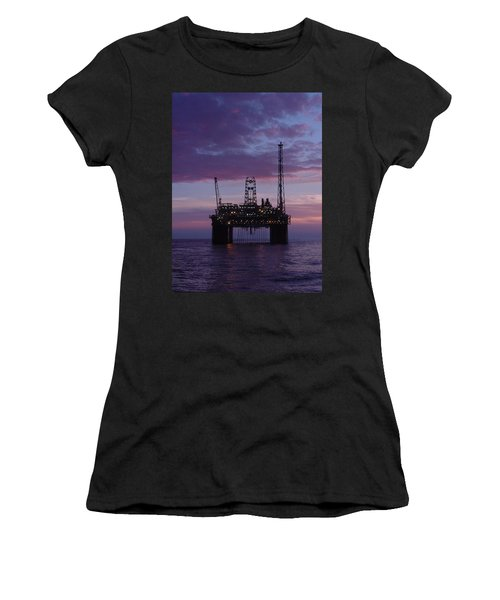 Snorre At Dusk Women's T-Shirt (Athletic Fit)