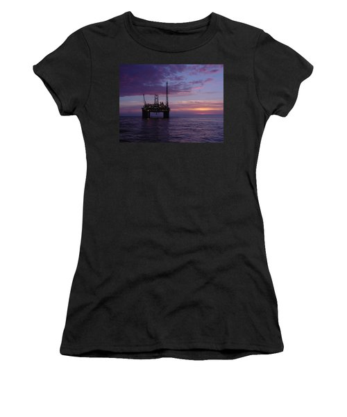 Snorre Sunset Women's T-Shirt (Athletic Fit)