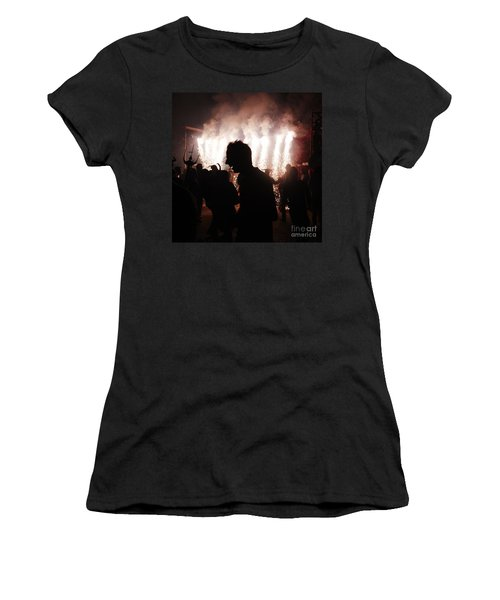 Spark Backlighting Women's T-Shirt