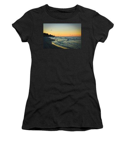 Spirit's Journey Women's T-Shirt (Junior Cut) by Sara Frank
