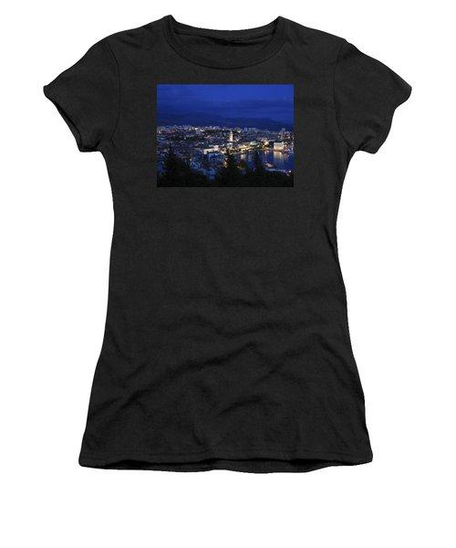 Women's T-Shirt (Junior Cut) featuring the photograph Split Croatia by David Gleeson