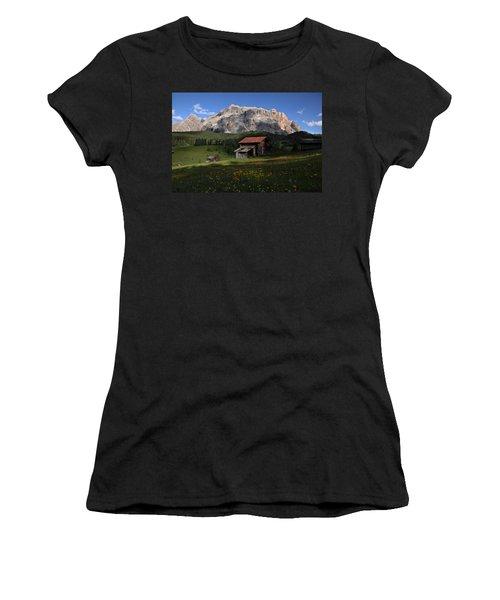 Women's T-Shirt (Junior Cut) featuring the photograph Spring At Santa Croce by Susan Rovira