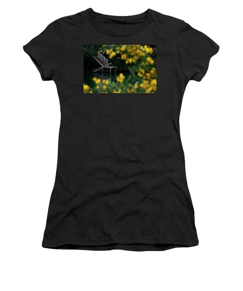 Women's T-Shirt (Junior Cut) featuring the photograph Stairway To Heaven by Pedro Cardona