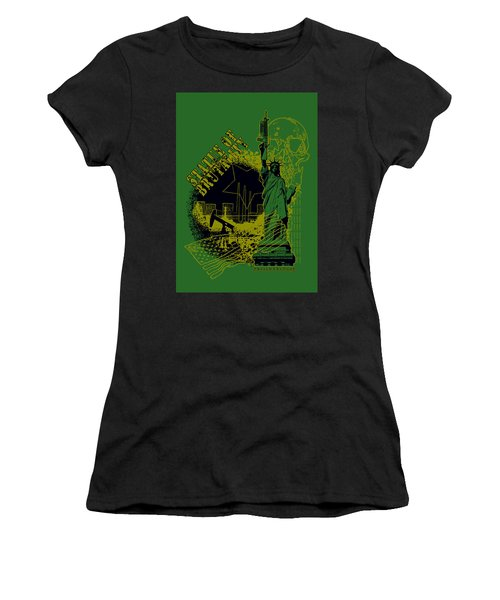 Statue Of Brutality  Women's T-Shirt (Athletic Fit)