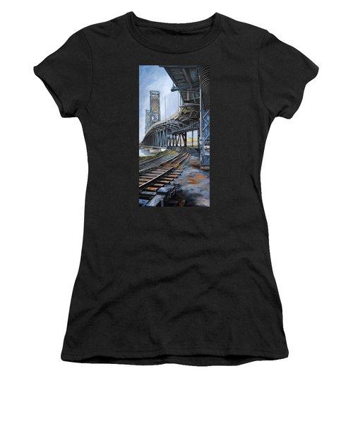 Steel Bridge 2012 Women's T-Shirt (Athletic Fit)