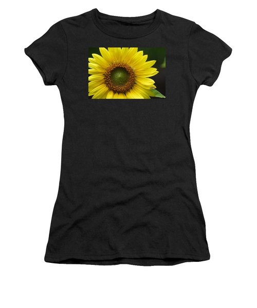 Sunflower With Insect Women's T-Shirt