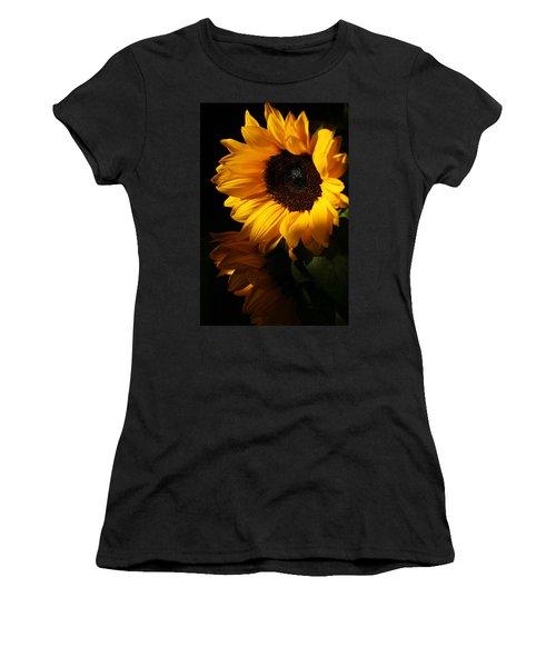 Sunflowers Women's T-Shirt (Junior Cut) by Dorothy Cunningham