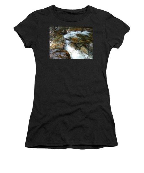 Sunlit Cascade Women's T-Shirt