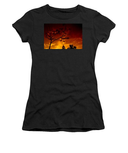 Sunset Over Florida Women's T-Shirt (Athletic Fit)