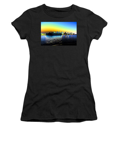 Sydney In Color Women's T-Shirt (Junior Cut) by Douglas Barnard