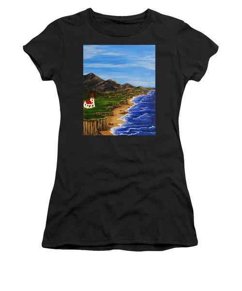 Sylvia's Seascape Women's T-Shirt (Athletic Fit)