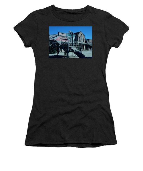 Taverna Western Village In Spain Women's T-Shirt