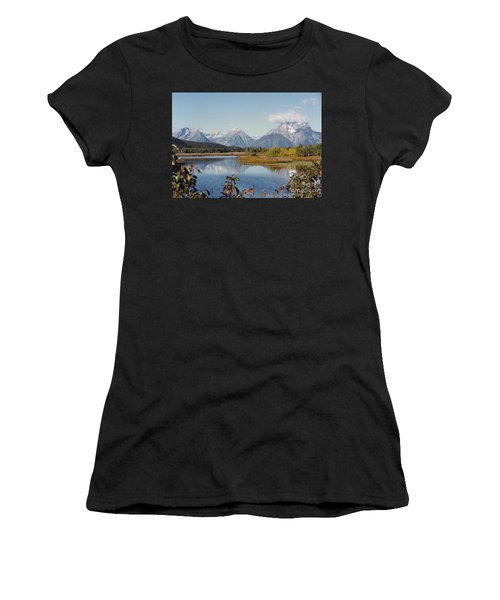 Tetons Reflection Women's T-Shirt (Athletic Fit)