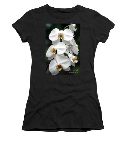 The Beauty Of Orchids  Women's T-Shirt (Athletic Fit)