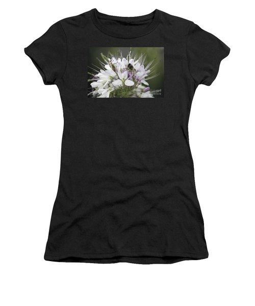 The Beetle And The Bee Women's T-Shirt (Athletic Fit)