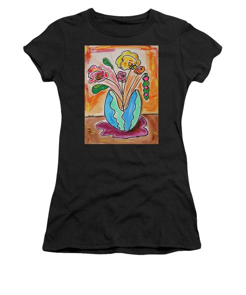 The Colors Of Sherbert Women's T-Shirt (Athletic Fit)