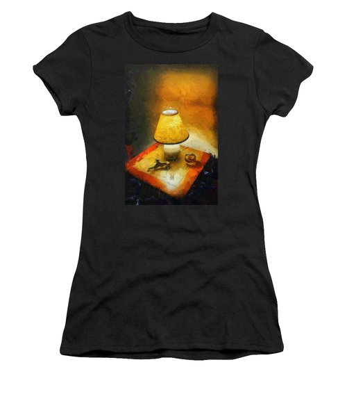The Evening Lamp Women's T-Shirt (Athletic Fit)
