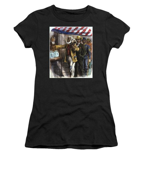 The First Vote, 1867 Women's T-Shirt