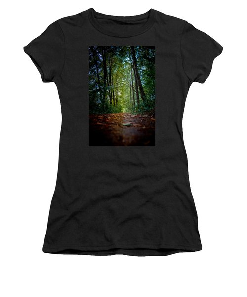 The Pathway In The Forest Women's T-Shirt