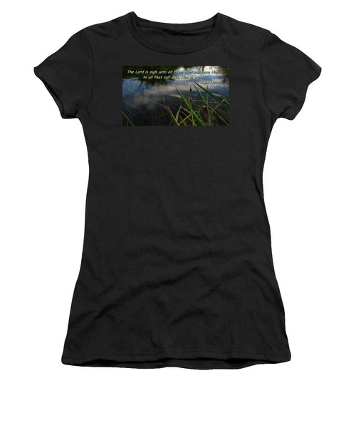 The Truth Factor Women's T-Shirt (Athletic Fit)