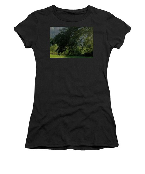 Women's T-Shirt (Junior Cut) featuring the photograph This Ole Tree by Maria Urso