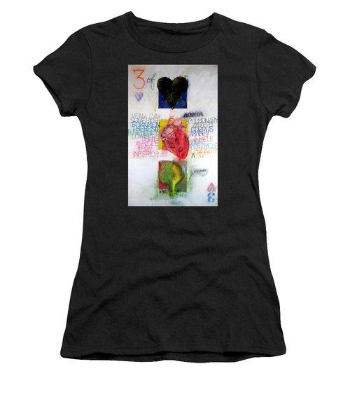 Three Of Hearts 32-52 Women's T-Shirt