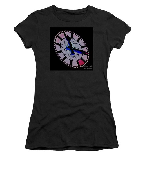 Women's T-Shirt (Junior Cut) featuring the photograph Time Waits For No Man by Blair Stuart