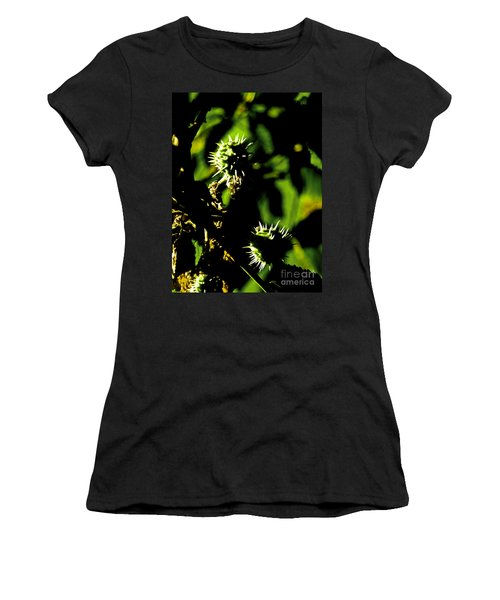 Women's T-Shirt (Junior Cut) featuring the photograph Touched By The Late Afternoon Sun by Steve Taylor